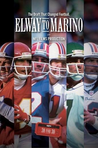 Elway To Marino poster