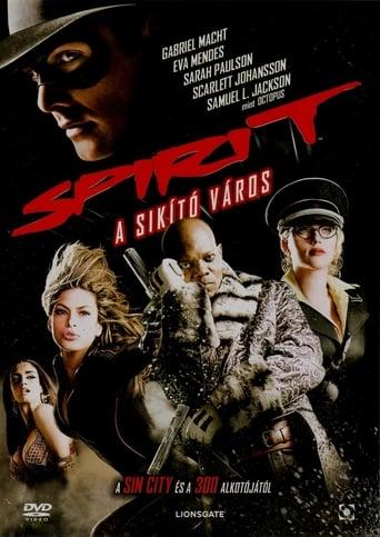 Poster of Spirit - A sikító város
