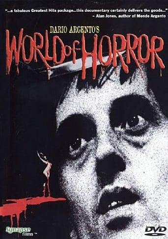 Poster of Dario Argento's World of Horror