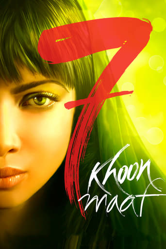 Poster of 7 Khoon Maaf