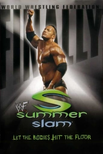 Poster of WWE SummerSlam 2001