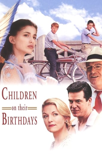 Poster of Children on Their Birthdays