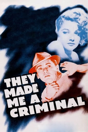 Poster of They Made Me a Criminal