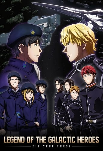 Poster of The Legend of the Galactic Heroes: Die Neue These
