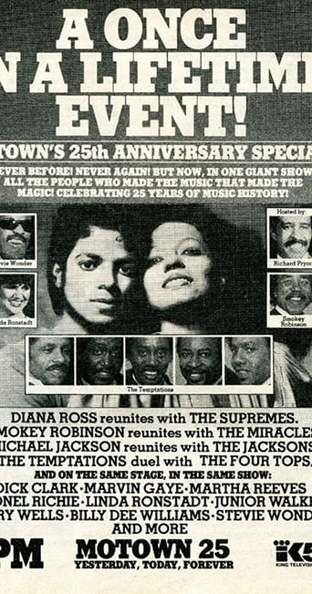 Poster of Motown 25: Yesterday, Today, Forever