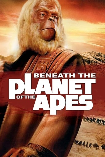 Beneath the Planet of the Apes Movie Poster