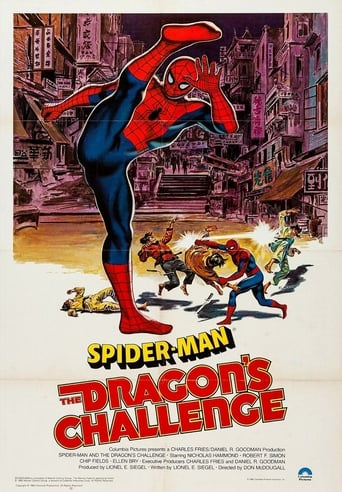 Poster of Spider-Man: The Dragon's Challenge