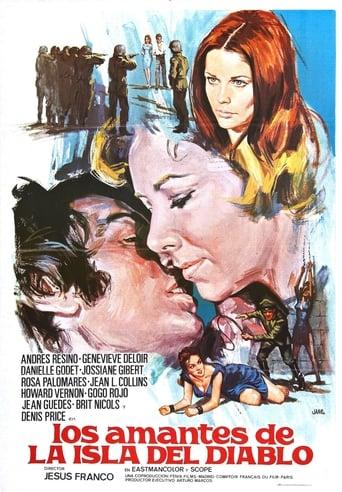 Poster of Los amantes de la Isla del Diablo