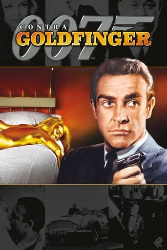007 Contra Goldfinger - Poster