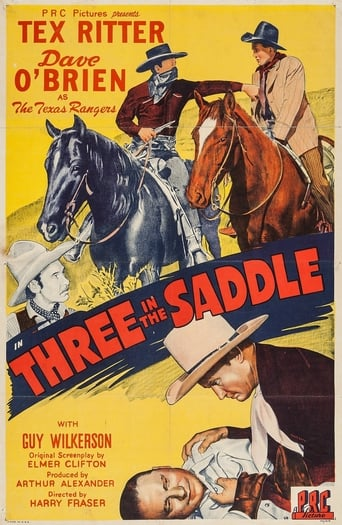Poster of Three in the Saddle