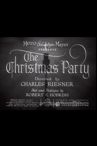 The Christmas Party (1931)