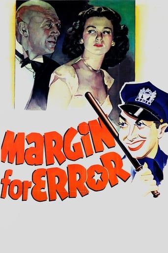 Poster of Margin for Error