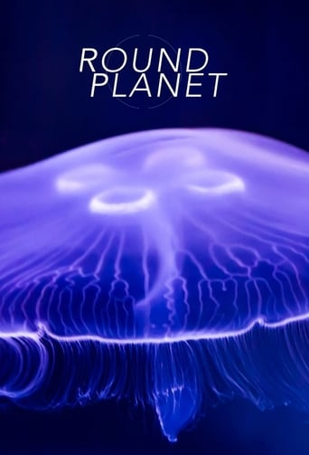 Round Planet Poster