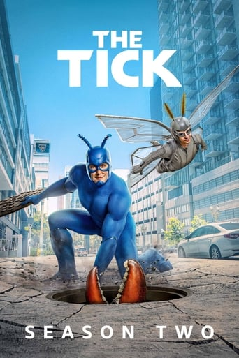 The Tick 2ª Temporada - Poster