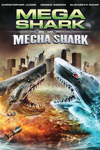 Mega Shark vs. Mecha Shark - Poster