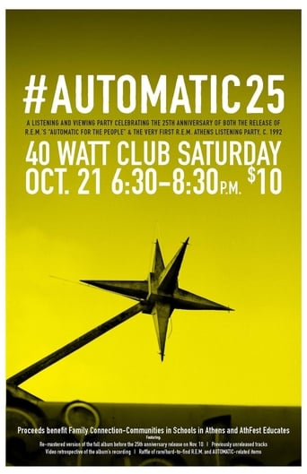 Poster of R.E.M. - Automatic Unearthed