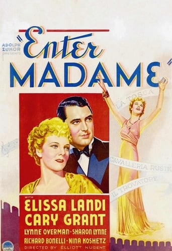 Poster of Enter Madame