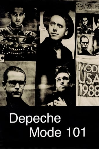 Poster of Depeche Mode: 101