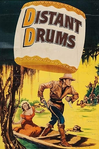 Distant Drums (1951) - poster