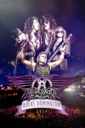 Poster of Aerosmith - Rocks Donington 2014