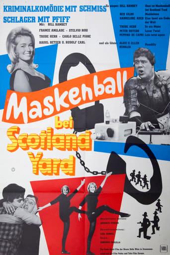 Poster of Maskenball bei Scotland Yard