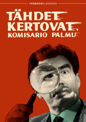Poster of The Stars Will Tell, Inspector Palmu