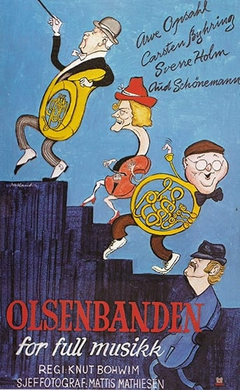 Olsenbanden for full musikk Movie Poster
