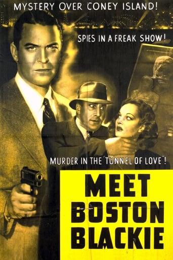 Poster of Meet Boston Blackie