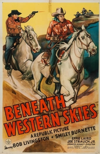 Poster of Beneath Western Skies