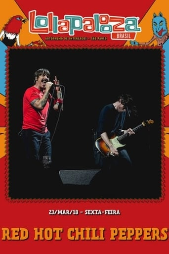 Red Hot Chili Peppers Lollapalooza 2018 - Poster