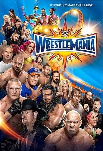 Poster of WWE Wrestlemania 33