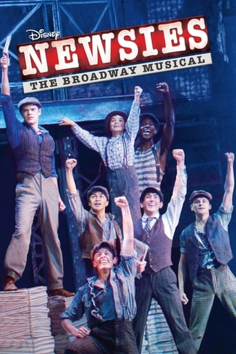 Poster of Disney's Newsies the Broadway Musical