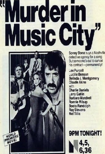 Poster of Murder in Music City