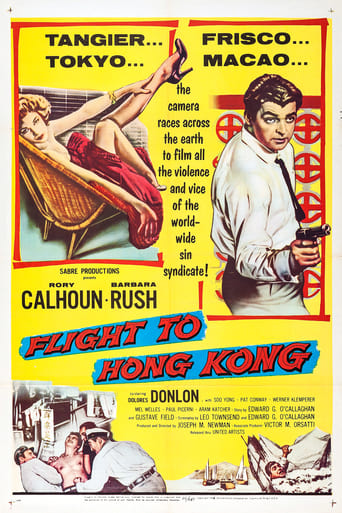 Poster of Flight to Hong Kong