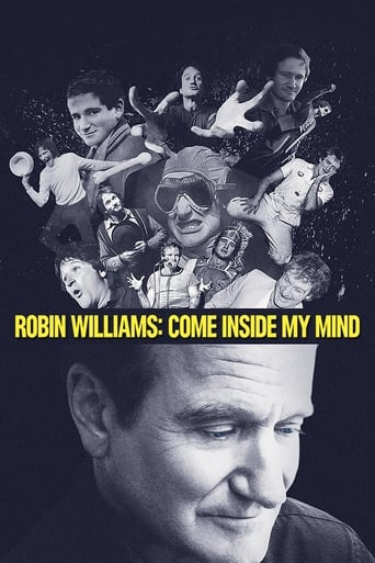 Robin Williams - Come Inside My Mind - Poster