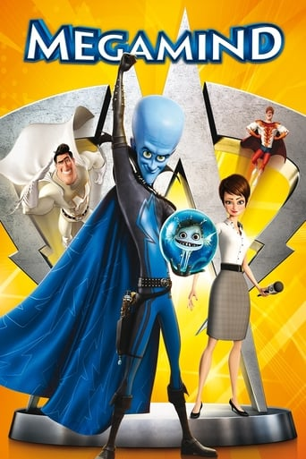 Official movie poster for Megamind (2010)