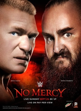 Poster of WWE No Mercy 2017