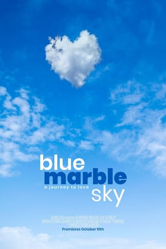 Poster Blue Marble Sky