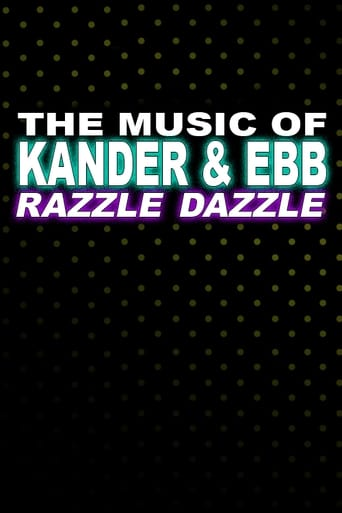 Poster of The Music of Kander and Ebb: Razzle Dazzle