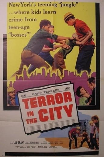 Poster of Terror in the City