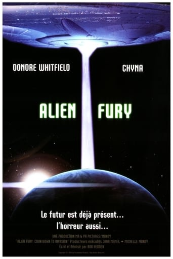 Poster of Alien Fury: Countdown to Invasion