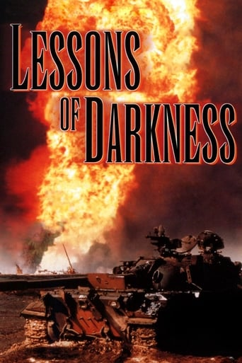 Poster of Lessons of Darkness