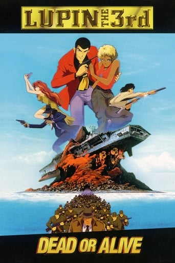 Poster of Lupin III: Dead or Alive