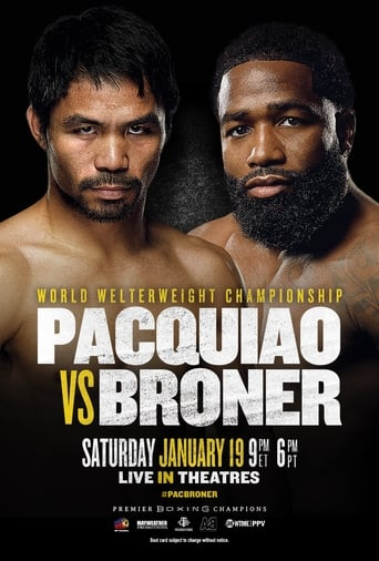 Poster of Pacquiao vs. Broner