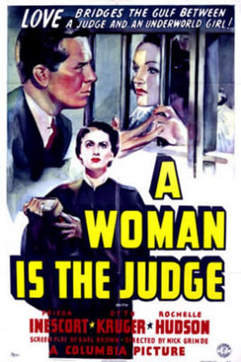 Poster of A Woman is the Judge