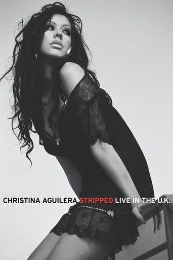 Poster of Christina Aguilera: Stripped - Live in the U.K.
