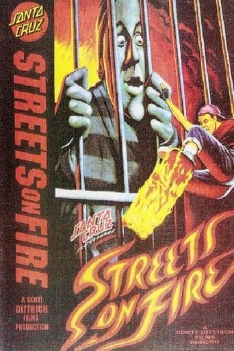 Poster of Santa Cruz Skateboards - Streets On Fire