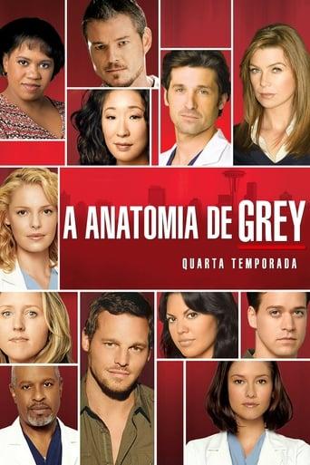 Anatomia de Grey 4ª Temporada - Poster