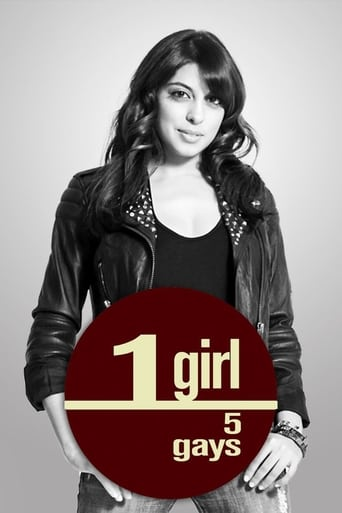 Poster of 1 Girl 5 Gays