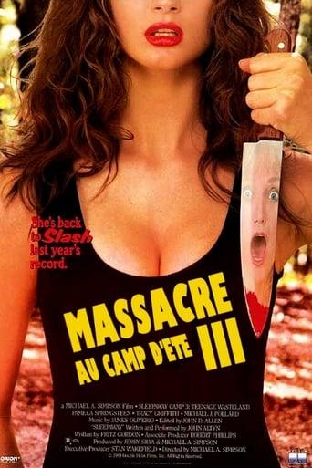 Poster of Massacre au camp d'été 3